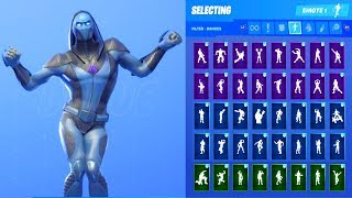 OMEN SKIN SHOWCASE WITH ALL FORTNITE DANCES & EMOTES