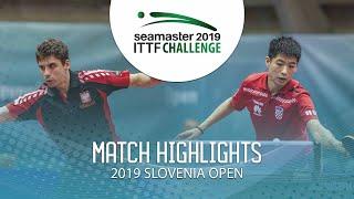 Jakub Dyas vs Wei Shihao   2019 ITTF Challenge Slovenia Open (Final)