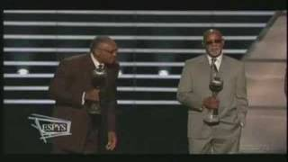 Tommie Smith/John Carlos 2008 Arthur Ashe Courage Award Pt2