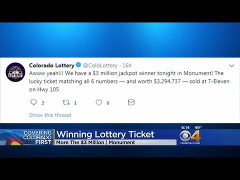 BEARDO - Someone In Monument Got A $3.3 Million Lotto Ticket
