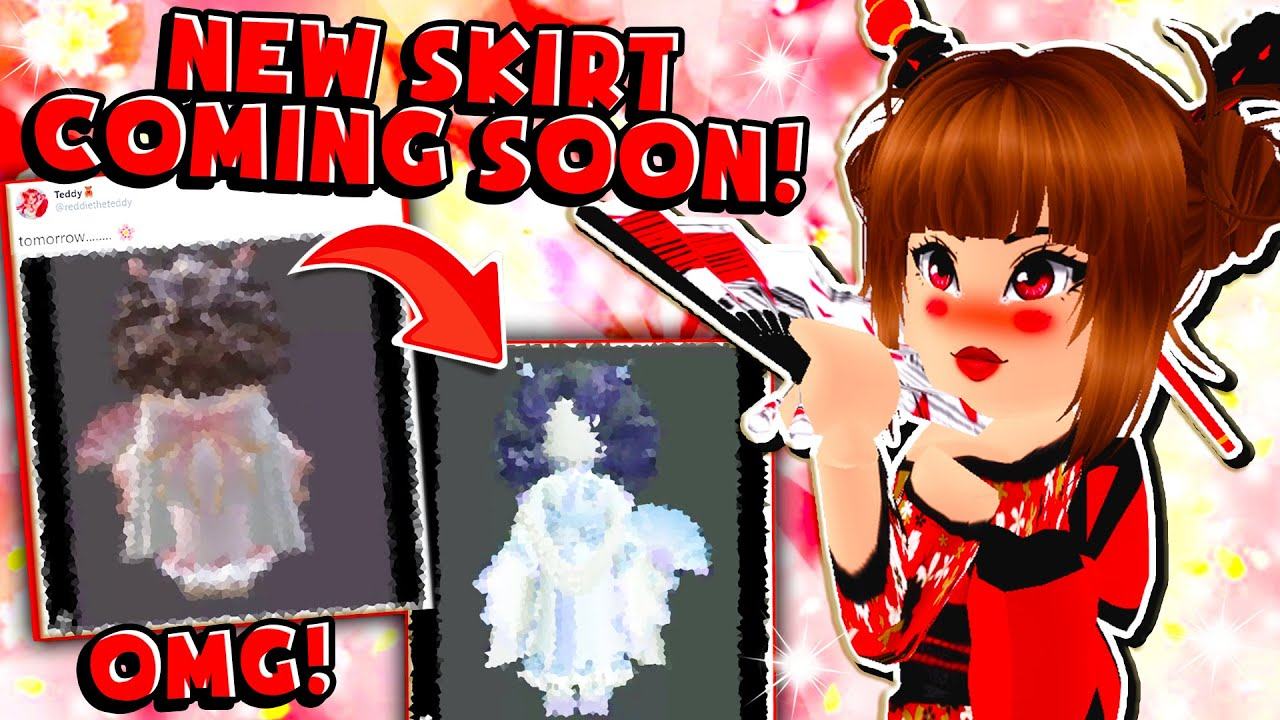New Kimono Coming Soon To The New Spring Cherry Blossom Set In Roblox Royale High School Youtube