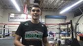 Leo Santa Cruz Reveals His Tattoo To Honor His Dad Esnews Boxing Youtube