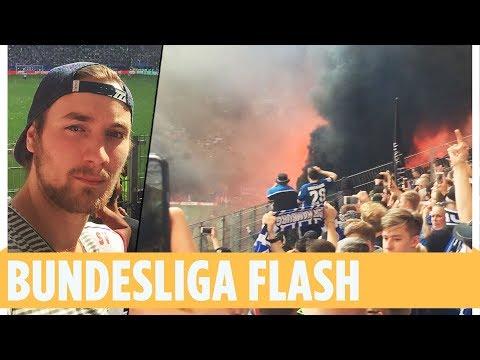 Augenzeuge filmt Randale bei HSV-Abstiegs-Spiel