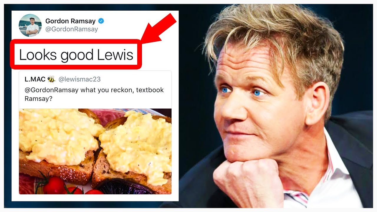 10 times gordon ramsay actually liked the food youtube - Gordon ramsay cuisine cool ...