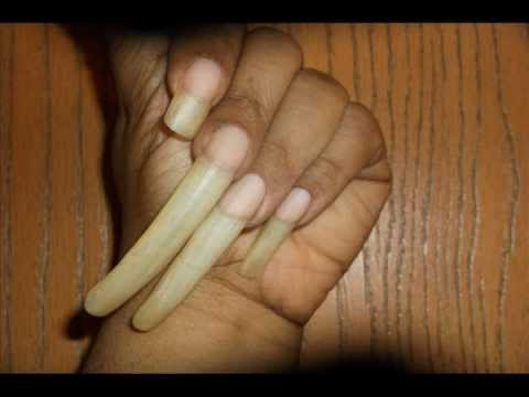 Update: How to Grow Long Nails Naturally? - YouTube