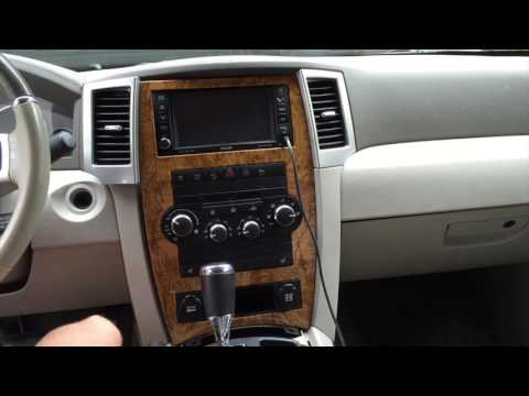 2009 Jeep Grand Cherokee Dash/Head Unit Removal