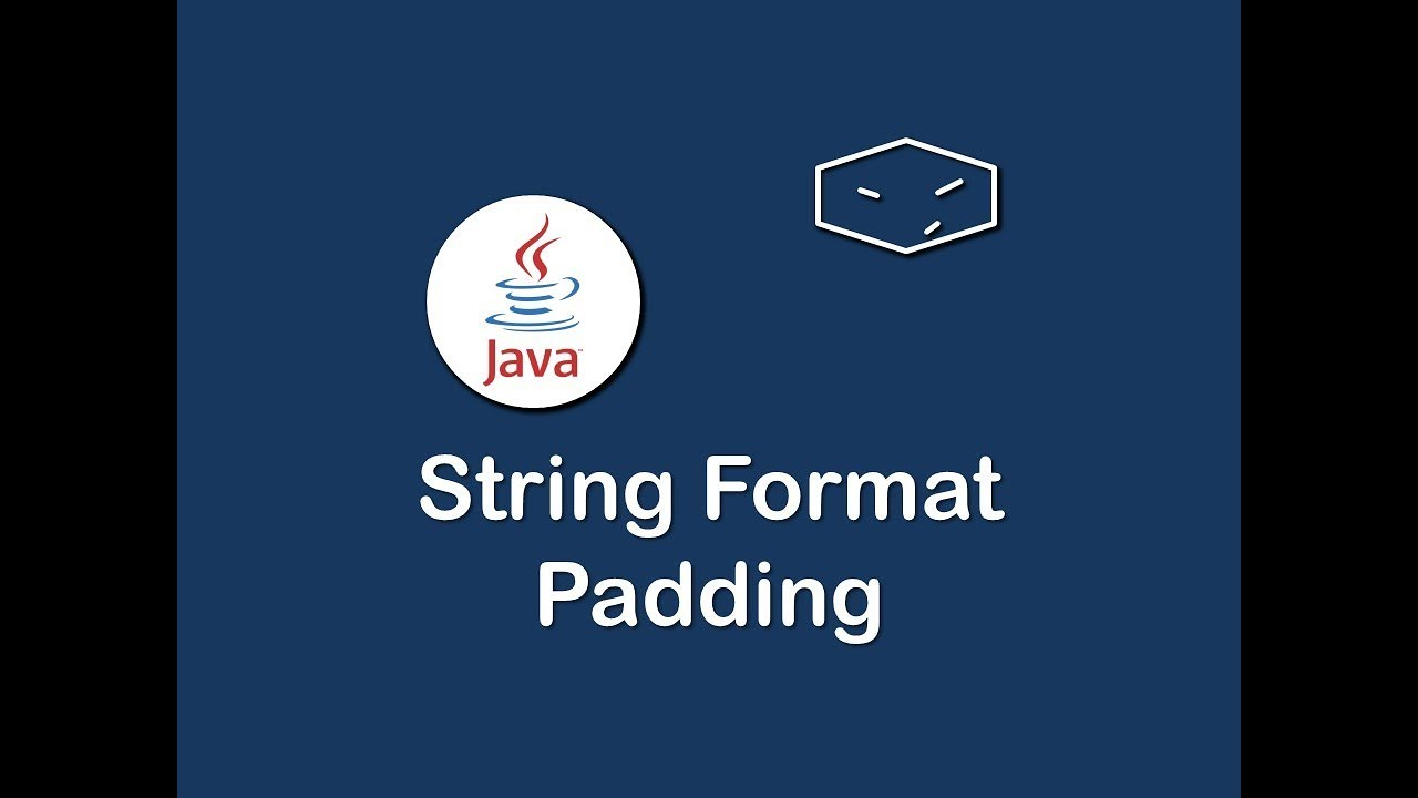 string format padding in java
