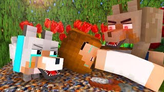 - Wolf Life 12 Craftronix Minecraft Animation