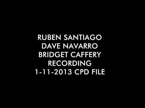 COLUMBIA POLICE INTERIM CHIEF SANTIAGO, CAPTAIN DAVE NAVARRO & BRIDGET CAFFREY RECORDING