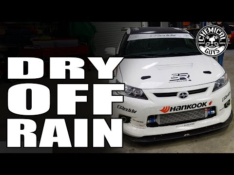 How To Dry Rainwater Off Your Car - Chemical Guys Car Detailing