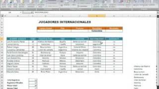 26-Filtros Avanzados en Excel 2007 Parte 1