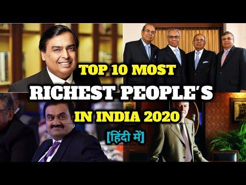 Top 10 Richest People's in India 2020 | भारत के 10 सबसे अमीर व्यक्ति 2020 |