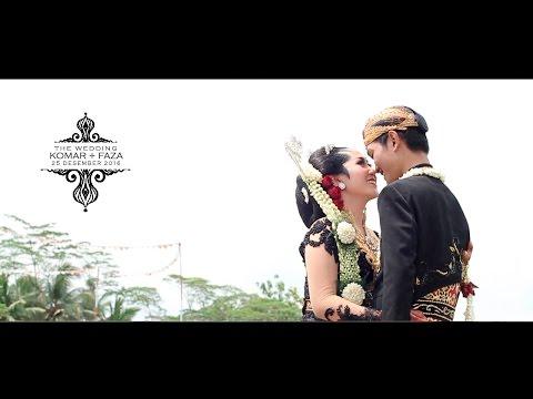 WEDDING CLIP KEBUMEN | WEDDING CINEMATIC 2017 | WEDDING VIDEOGRAPHY KOMAR + FAZA