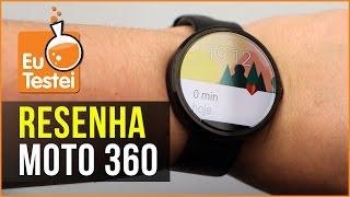 Moto 360 Smartwatch Motorola - Vídeo Resenha EuTestei Brasil(Moto 360 Smartwatch Motorola ☆ A resenha completa sai em breve, fique de olho! TEM MAIS NA DESCRIÇÃO! LÊ AÍ EMBAIXO TAMBÉM! :) ☆ Veja o ..., 2015-12-19T00:01:04.000Z)