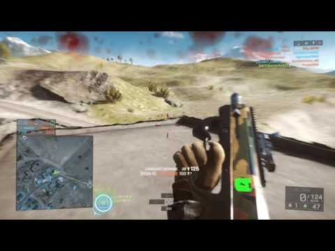 DICE ARE FIRING DEAD BODIES AT ME! BF4