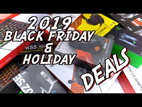 2019 Black Friday & Holiday Deals! Gaming Peripherals (Headsets, Keyboards, Mice)