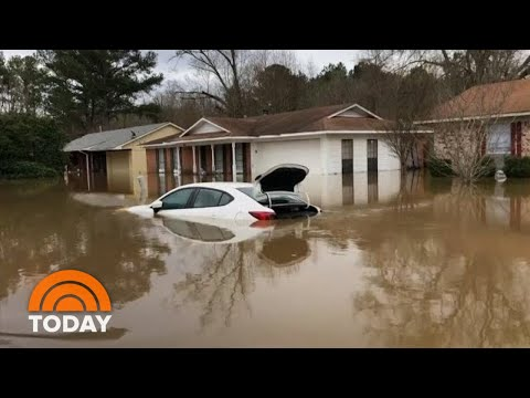 Mississippi Flooding Worsens As Heavy Rain Batters South | TODAY