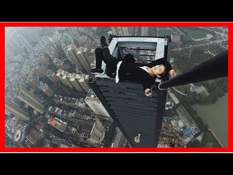 Headline News - The daredevil climbers die in China fall