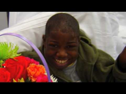 Hospitalized Kid Turns into a Florist (with quotes)