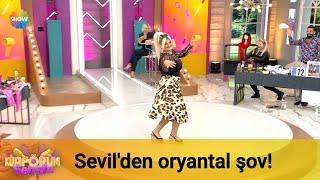 Yeni yarışmacı Sevil'den oryantal şov!