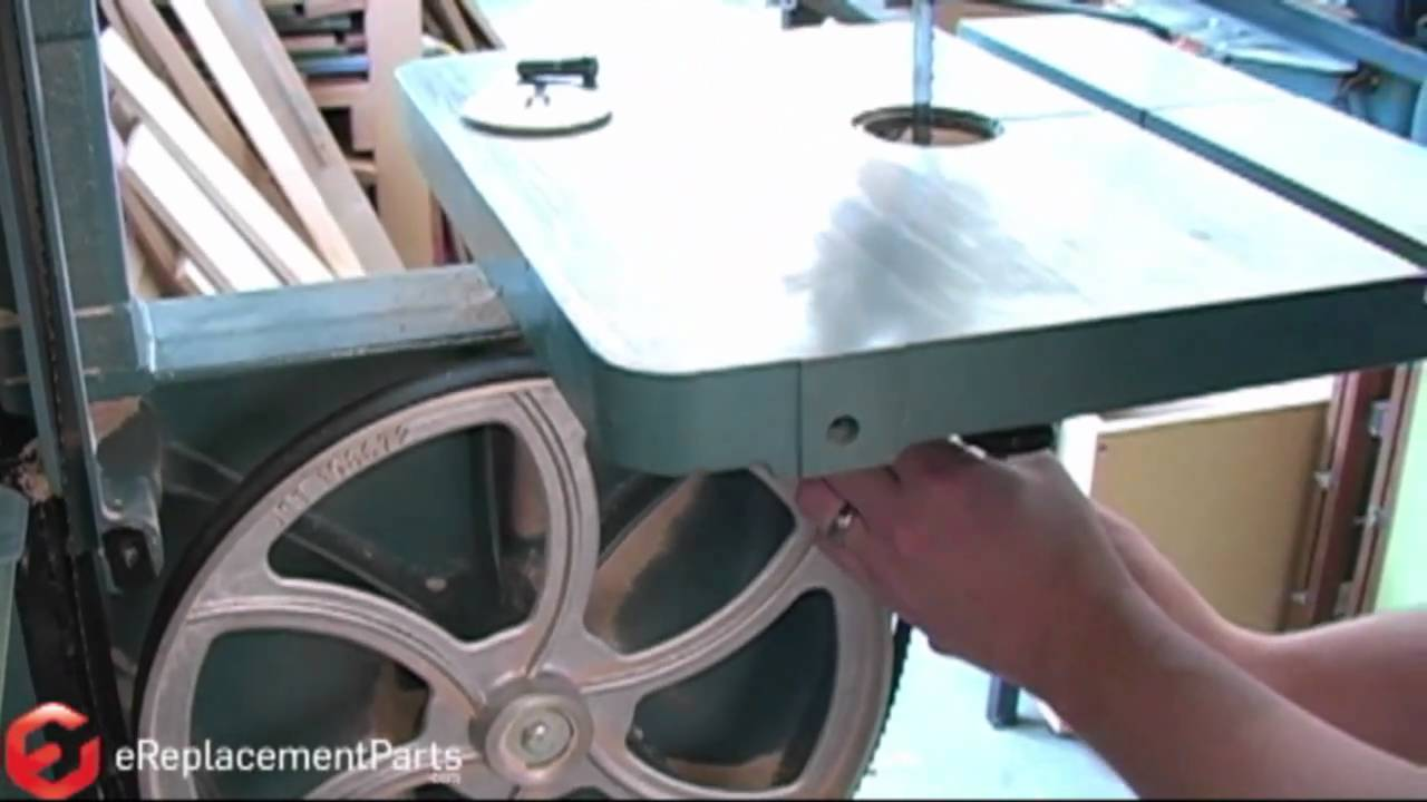 How To Change A Bandsaw Blade Youtube