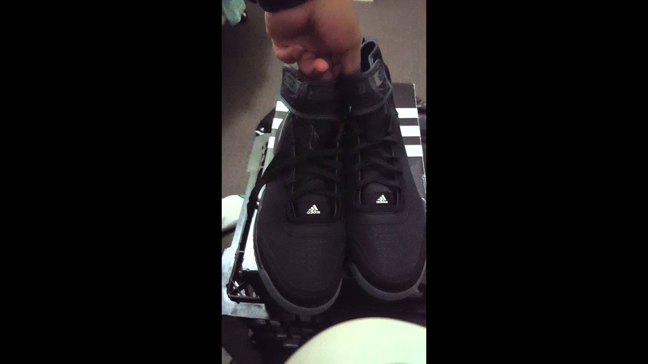 72c6ed50bb2f Adidas dual threat quick unboxing - YouTube
