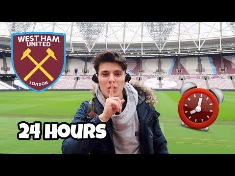 24 HOUR OVERNIGHT In West Ham Football Stadium Fort!