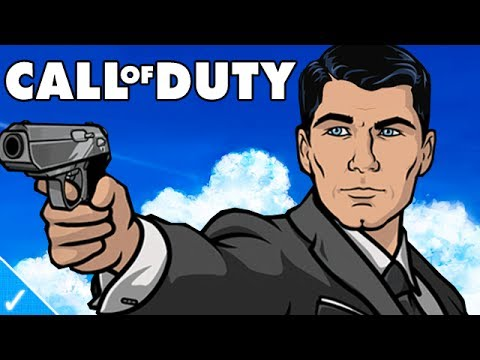 STERLING ARCHER PLAYS COD GHOSTS