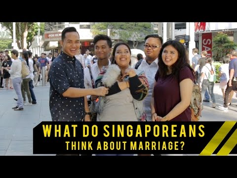 Do Singaporeans Want To Get Married And At What Age? | Word On The Street | EP 10