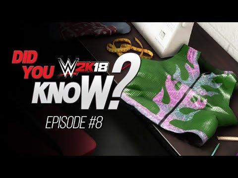WWE 2K18 Did You Know? Backstage Secrets, New Unused Entrances & More! (Episode 8)