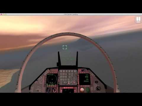 F18 Carrier Landing Lite 1