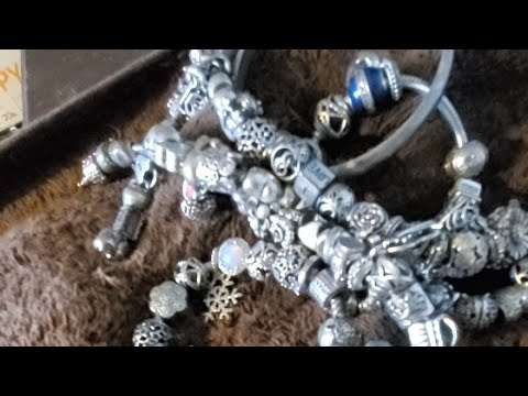 Cleaning My Pandora Braclets