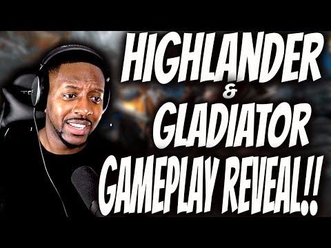 For Honor : Highlander & Gladiator Concept Art! [Season 3] - I'll Always Love You Orochi!