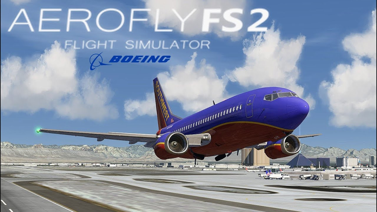 Aerofly 500 I Durchstarten Vegasdeutschhd Las Flugsimulator ✈️ Landen Boeing Fs 737 2 Statt ym0Ov8wNnP