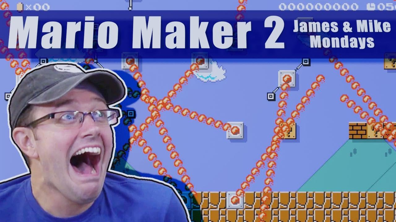 James and Mike play CRAZY Mario Maker 2 Levels!