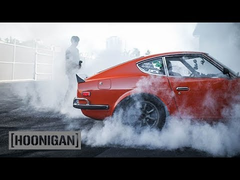 [HOONIGAN] DT 121: Larry Chen's SR20 Powered Datsun 240z aka Ole Orange Bang