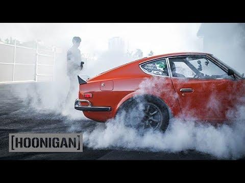 [HOONIGAN] DT 121: Larry Chen's SR20 Powered Datsun 240z aka Ole Orange Bang