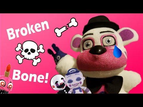 Fnaf Plush -   Funtime Freddy Breaks His Arm!!!