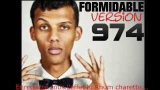 "Stromae REMIX EN KREOL 974 "" Formidable ""- Lee Cenzo Feat Lo Rhum"