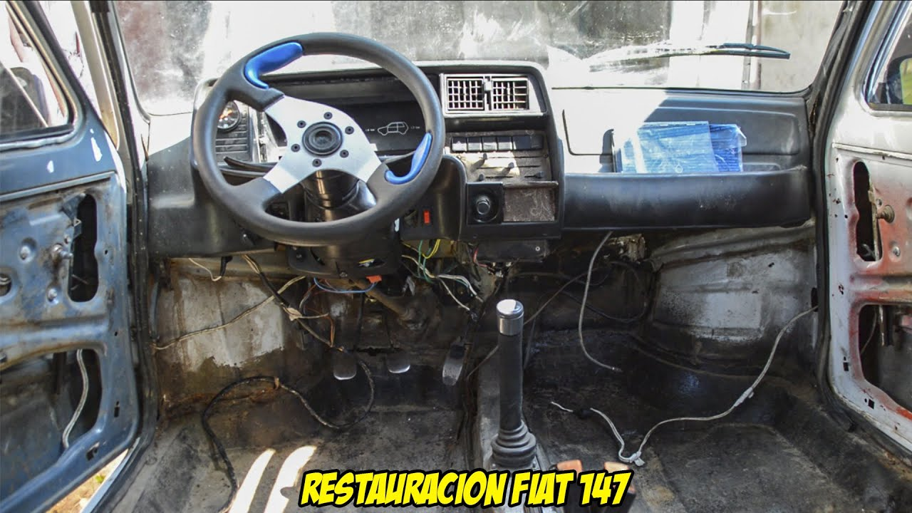 Restauracion Fiat 147 1 Desarme Y Lavado Radialero Team Youtube