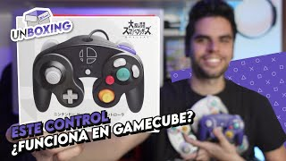 ¿Funciona en Gamecube? Unboxing control de Super Smash Bros. Ultimate (4K)