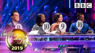 Dance couples and judges react to Saturday night! 💁♀️💁♂️ - Week 5 | BBC Strictly 2019