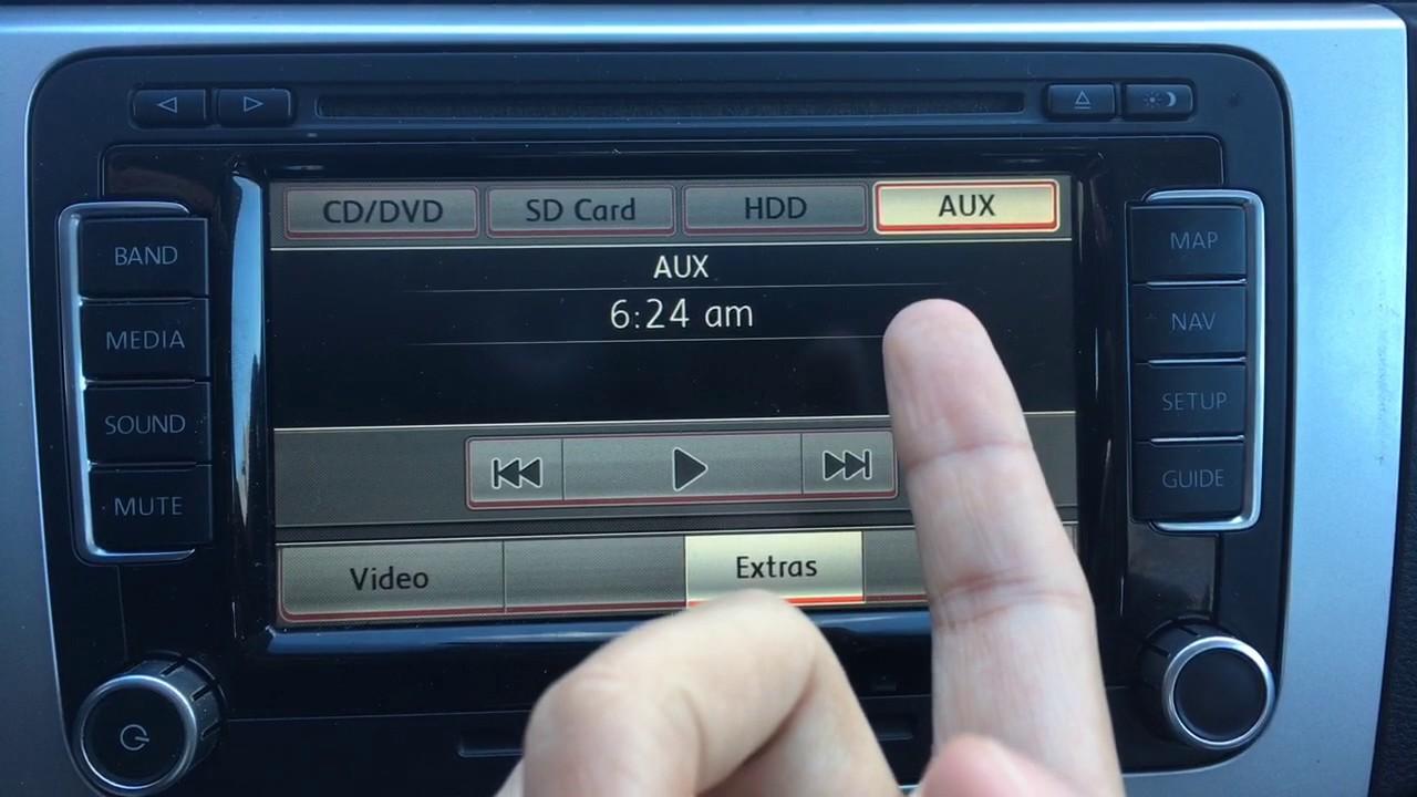 2009 Volkswagen Passat Aux Not Working