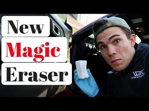 magic eraser car detailing eraser vs eraser youtube. Black Bedroom Furniture Sets. Home Design Ideas