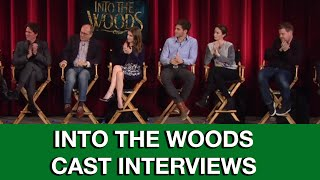 Into The Woods Interviews - Anna Kendrick, Chris Pine, James Corden, Emily Blunt, Meryl Streep
