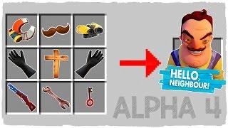 MINECRAFT - HOW TO SUMMON HELLO NEIGHBOR ALPHA 4 HOUSE