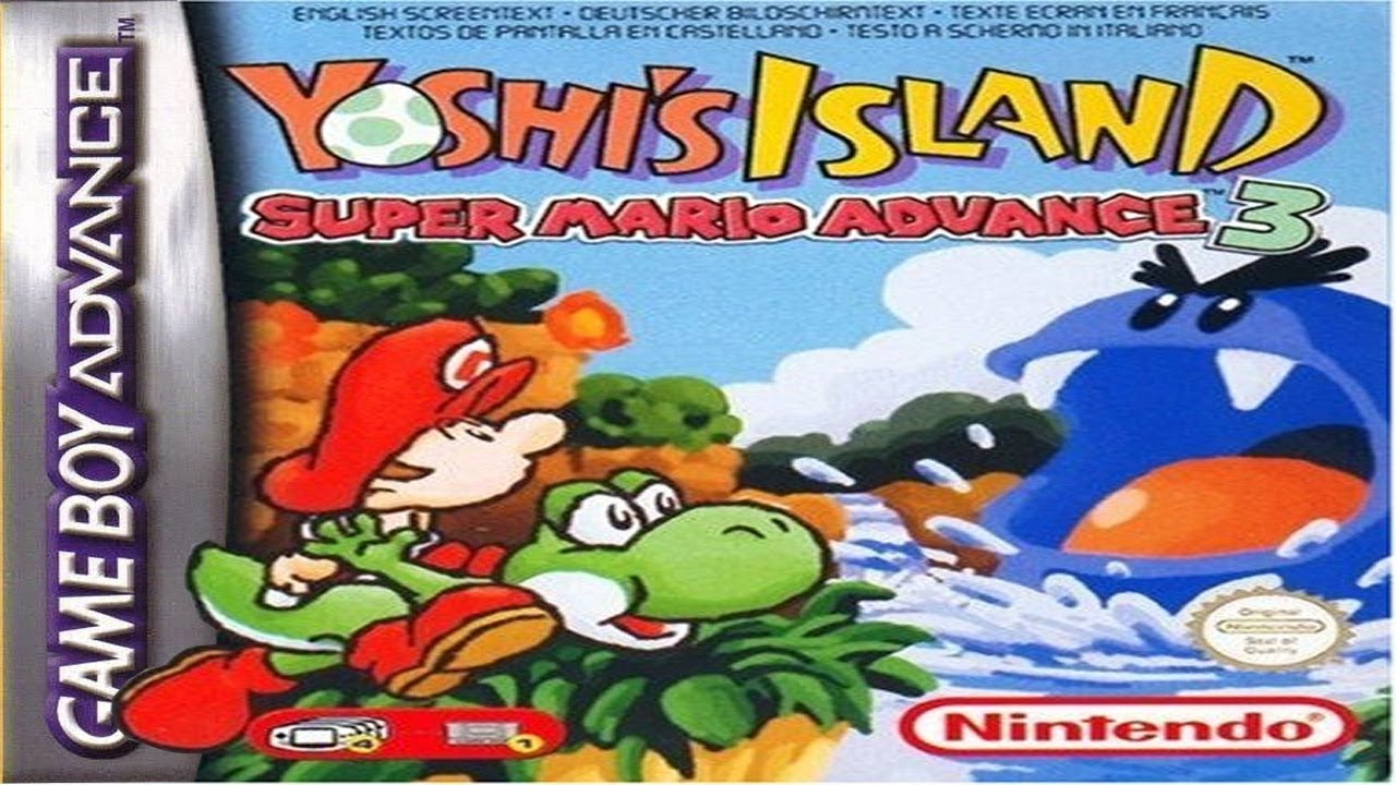 LONGPLAY] GBA - Super Mario Advance 3: Yoshi's Island [100%] (HD, 60FPS) -  YouTube