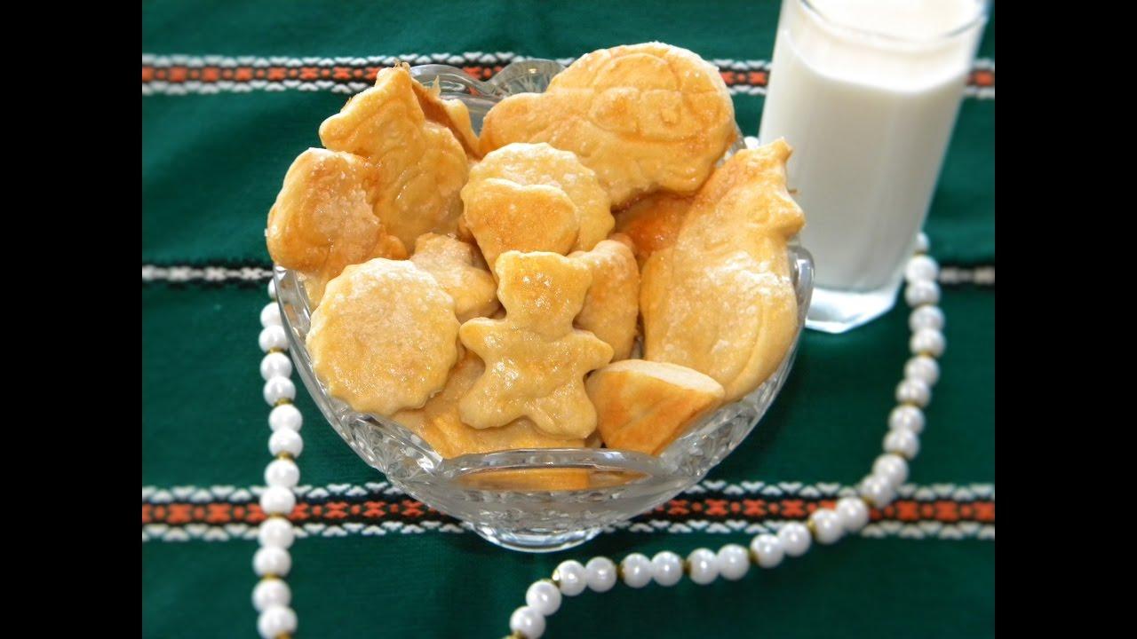 домашнее печенье рецепты простые вкусное на сметане