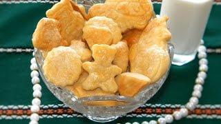 Печенье на сметане - просто и вкусно.