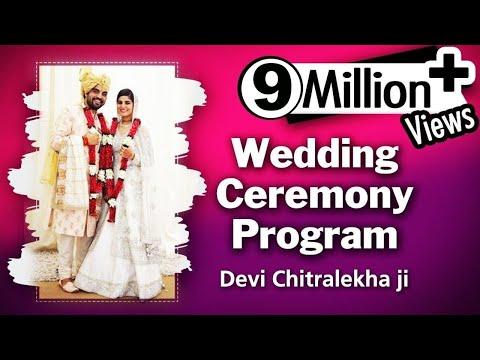 Devi Chitralekhaji - Wedding Ceremony Program - 23 May 2017 || Promise On Her Marriage